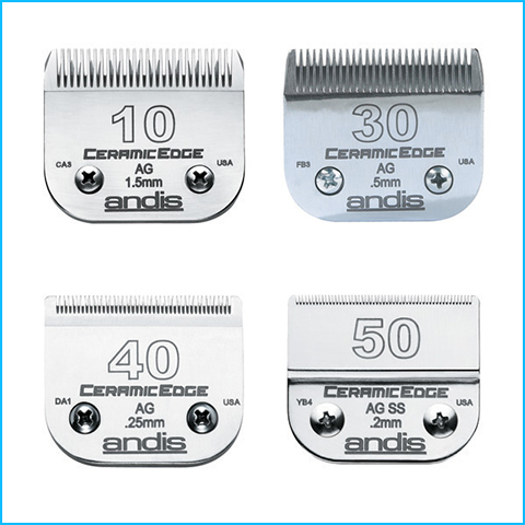 Dog Grooming Tools - Clipper Blades